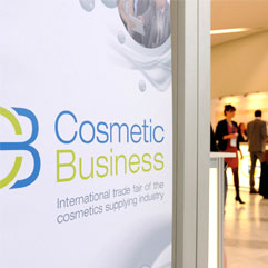 cosmetic business Messe