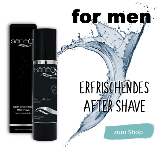 SaneO2 After Shave Naturkosmetik For Men