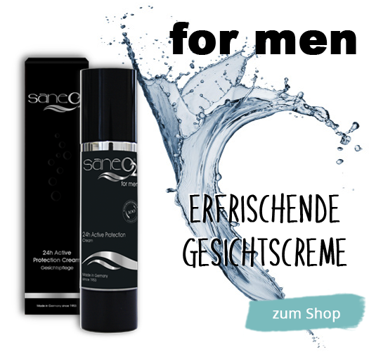 SaneO2 Gesichtscreme for Men